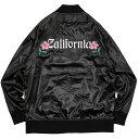 (ステューシー) STUSSY CALIFORNIA SATIN JACKET (JACKET)(17S115324-BK) ジャケット アウター 国内正規品