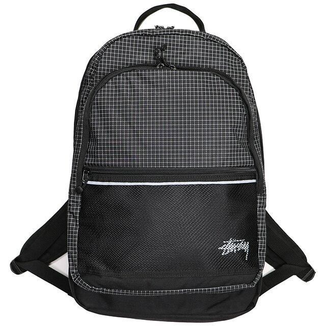 (ステューシー) STUSSY RIPSTOP NYLON BACKPACK (BAG)(133020:BK) バッグ 鞄 リュック バックパック 国内正規品