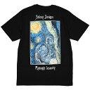 (ステューシー) STUSSY MIDNIGHT INSANITY TEE (SS:TEE)(1904689-BK) Tシャツ 半袖 カットソー 国内正規品