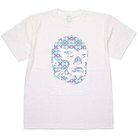 (ハオミン) HAOMING ICON MASK TEE (SS:TEE)(1901-80-WH) Tシャツ 半袖 カットソー 国内正規品