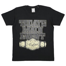 (ハオミン) HAOMING MAIN EVENT TSHIRT (SS:TEE)(1710-16-BK) Tシャツ 半袖 カットソー 国内正規品