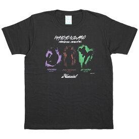 (ハオミン) HAOMING×にわのまこと チャンピオンカーニバル TEE (SS:TEE)(8795-01-BK) Tシャツ 半袖 カットソー ザ・モモタロウ 国内正規品