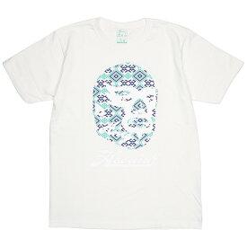 (ハオミン) HAOMING ICON MASK TEE (SS:TEE)(1212-17-OWH) Tシャツ 半袖 カットソー 国内正規品