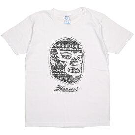 (ハオミン) HAOMING ICON AKT MASK TEE (SS:TEE)(1834-11-WH) Tシャツ 半袖 カットソー 国内正規品