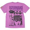 (ハードコアチョコレート) HARDCORE CHOCOLATE うずまき-UZUMAKI-傷跡 (三日月ラベンダー)(SS:TEE)(T-1125-LV) Tシャツ 半袖 カットソ…