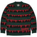 (ハードコアチョコレート) HARDCORE CHOCOLATE HARDCCゾンビニットセーター2019AW (SWEATER)(HGCC-1337-BK) セーター …