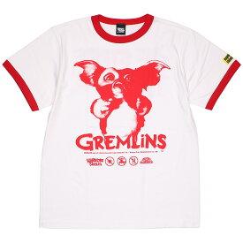 (ハードコアチョコレート) HARDCORE CHOCOLATE グレムリン (We're Backホワイト×レッド)(SS:TEE)(T-1304MS-WH) Tシャツ 半袖 カットソー ワーナー・ブラザース ギズモ モグワイ 映画 国内正規品