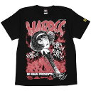 (ハードコアチョコレート) HARDCORE CHOCOLATE デビルマン MIKI -2020復刻版- (悪魔狩りブラック)(SS:TEE)(T-1366-BK) Tシャツ 半袖 カ…