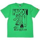 (ハードコアチョコレート) HARDCORE CHOCOLATE 100日後に死ぬワニ (無邪気ブライトグリーン)(SS:TEE)(T-1393MS-GE) Tシャツ 半袖 カッ…