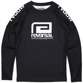 (リバーサル) reversal rvddw LONG RASH GUARD (LS:TEE)(rvbs049-BK) ロンT 長袖 ブラック ラッシュガード 国内正規品