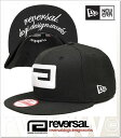 REVERSAL BIG MARK NEWERA CAP 9FIFTY SNAPBACK (CAP)(rvner006-BK)