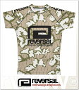 (リバーサル) REVERSAL rvddw RASH GUARD (RUSH GUARD)(rvbs018-B.CA) Tシャツ 半袖 ラッシュガード 国内正規品