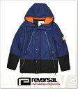 (リバーサル) REVERSAL PADDED MOUNTAIN JACKET (JACKET)(rv18aw002-NV) ジャケット マウンテンジャケット ナイロン 国内正規品