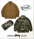(ステューシー) STUSSY REVERSIBLE MOCK JACKET (JACKET)(17F815123-CO) ジャケット アウター リバーシブル パッカブル 国内正規品