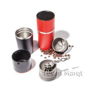 オールインワンコーヒーメーカーレッドCafflanoKlassicカフラーノクラシック【コーヒーメーカー/豆挽き/タンブラー】