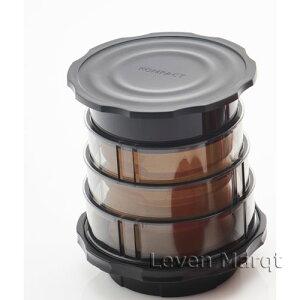 コンパクトフレンチプレスコーヒーメーカーブラックCafflanoKompactカフラーノコンパクト【フレンチプレス/水出しコーヒー/コーヒーメーカー】