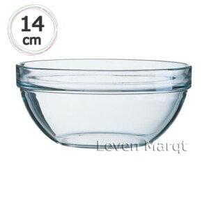 アルコロックリュミナルクLuminarcスタックボール14.0cm【アンビラブル/耐熱ガラス/サラダボール】