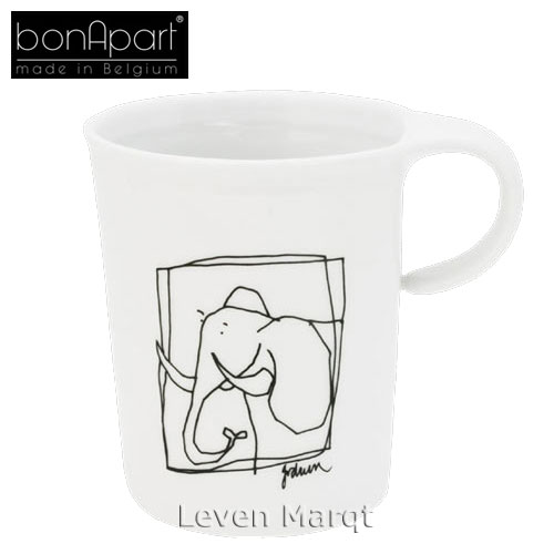 ボナパルト bonApart スイートアニマル マグカップ エレファント【マイセン/ぞう/マグカップ】