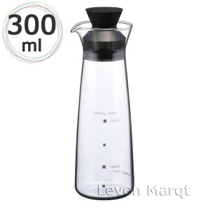 イワキiwakiドレッシングボトルレギュラー300ml【耐熱ガラス/保存容器/調味料】