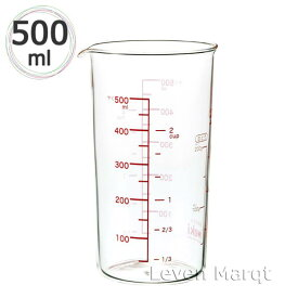 イワキ iwaki ガラスメジャーカップ 500cc【耐熱ガラス/計量カップ/電子レンジ】