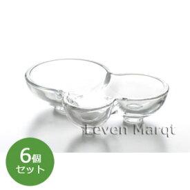 ガラス アミューズディッシュ 6個セット 東洋佐々木ガラス TOYO-SASAKI GLASS【デザート/食器/ケータリング】【RCP】