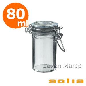 ソリアsoliaキルナージャー80ml24個入りクリア【ケータリング/プラスチック容器/使い捨て食器】【RCP】