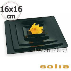 ソリア solia フルイド 160×160mm 100枚入り(選べる2色)【ケータリング/プラスチック容器/使い捨て食器】【RCP】