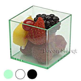 ソリア solia ミニキューブ 200個入り(選べる3色)【ケータリング/プラスチック容器/使い捨て食器】【RCP】