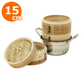 ミニセイロ&鍋セット 杉 15cm【蒸籠/せいろ/蒸し器】
