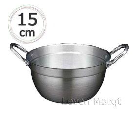 杉セイロ用アルミ鍋 15cm用 (IH非対応)【蒸籠/アルミ鍋/蒸し器】