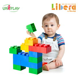 おもちゃ ユニプレイ ソフトブロック Mix120 日本育児 ブロック 大きめ 大きい 柔らかい 水洗い 子供 子ども こども キッズ 室内遊具 室内 トイ カラフル 幼稚園 保育園 保育所 託児所 幼保 保育用品 メーカー保証付
