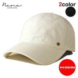 【女性用】 ナナ セブンユニオン NANA 7UNION ストラップバックキャップ 帽子 メンズ レディース フリーサイズ [ あす楽 ] [ wt bk ]
