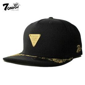 セブンユニオン 7UNION ストラップバックキャップ 帽子 メンズ レディース フリーサイズ [ あす楽 ] [ bk ]