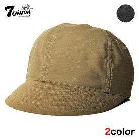 セブンユニオン 7UNION ポストマンキャップ ストラップバック 帽子 メンズ レディース フリーサイズ [ あす楽 ] [ bk bn ]