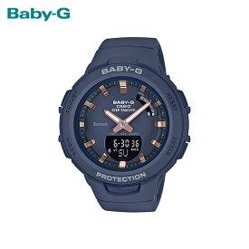【女性用】 カシオ ベビーG 腕時計 ベビージー ベイビージー レディース CASIO BABY-G 防水 [ 国内正規品 ] [ nv ]