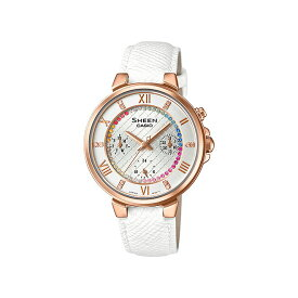 【女性用】 カシオ シーン 腕時計 レディース CASIO SHEEN スワロフスキー クリスタル 防水 [ 国内正規品 ]