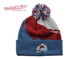 ミッチェル&ネス ニット帽 ビーニーキャップ 帽子 メンズ レディース MITCHELL&NESS NHL コロラド アバランチ ワンサイズ [ lbe ]