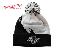 ミッチェル&ネス ニット帽 ビーニーキャップ 帽子 メンズ レディース MITCHELL&NESS NHL ロサンゼルス キングス ワンサイズ [ bk ]