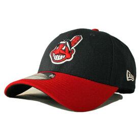 ニューエラ ストラップバックキャップ 帽子 NEW ERA 9forty メンズ レディース MLB クリーブランド インディアンス フリーサイズ [ nv ]
