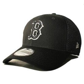 ニューエラ ベースボールキャップ 帽子 NEW ERA 39thirty メンズ レディース MLB ボストン レッドソックス S/M M/L L/XL [ bk ]