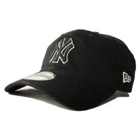 ニューエラ ストラップバックキャップ 帽子 NEW ERA 9twenty メンズ レディース MLB ニューヨーク ヤンキース フリーサイズ [ bk ]