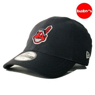 NEW ERA new Erastus lap back cap [new era cap newera 9twenty hat cap MLB CLEVELAND INDIANS Cleveland Indians adjustable size baby] [nv]
