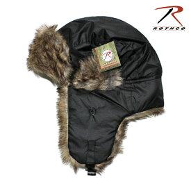 ロスコ フライトキャップ 帽子 メンズ レディース ROTHCO 7 1/4-7 1/2 [ bk ]
