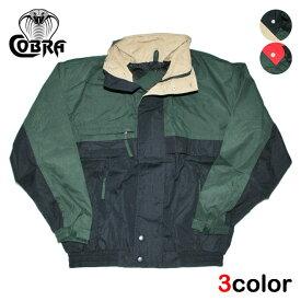 コブラキャップス ジャケット メンズ レディース COBRA CAPS ブルゾン ジャンパー 90s S-M [ あす楽 ] [ gy gn ]