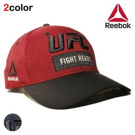 リーボック ユーエフシー コラボ スナップバックキャップ 帽子 メンズ レディース Reebok UFC フリーサイズ [ nv rd ]