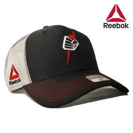 リーボック ユーエフシー プライド コラボ ベースボールキャップ メッシュ 帽子 メンズ レディース Reebok UFC S/M L/XL [ bk ]