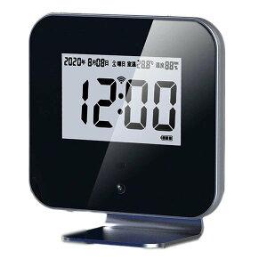 非接触型 据え置き 温度計 サーモモニター 温度測定 赤外線センサー デジタル温度計