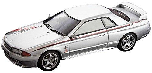 【中古】ホビージャパン MARK43 1/43 ニッサン スカイライン GT-R (R32 ニスモ S-Tune) シルバー 完成品