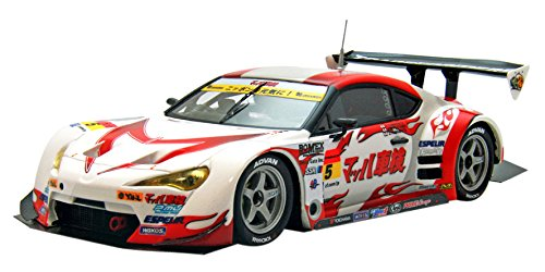 【中古】エブロ 1/43 MACH SYAKEN with iracon 86c-west SUPER GT300 2015 Rd.1 Okayama No.5 完成品