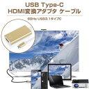 HDMI変換アダプタ マイクロUSBケーブル 60Hz USB3.1タイプC ディスプレイアダプタ スマートフォン接続 【ゆうパケットで送料無料】◇FAM-HD...